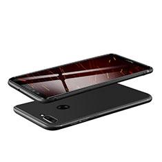 Custodia Silicone Ultra Sottile Morbida S08 per Huawei Honor 9 Lite Nero