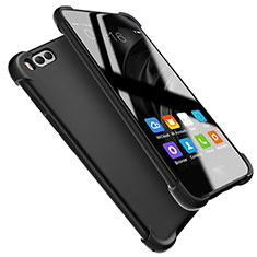 Custodia Silicone Ultra Sottile Morbida S08 per Xiaomi Mi 6 Nero