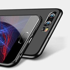 Custodia Silicone Ultra Sottile Morbida S09 per Huawei P10 Nero