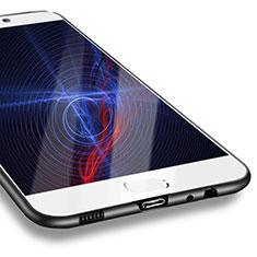Custodia Silicone Ultra Sottile Morbida S10 per Huawei P10 Nero
