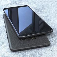 Custodia Silicone Ultra Sottile Morbida S10 per Samsung Galaxy S8 Nero