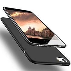Custodia Silicone Ultra Sottile Morbida U03 per Apple iPhone SE Nero