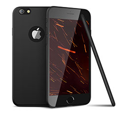 Custodia Silicone Ultra Sottile Morbida U15 per Apple iPhone 6 Nero