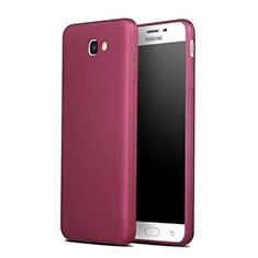 Custodia TPU Morbida Lucido per Samsung Galaxy J7 Prime Rosso