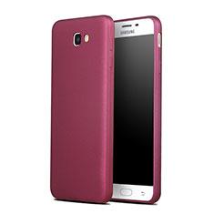 Custodia TPU Morbida Lucido per Samsung Galaxy On7 (2016) G6100 Rosso
