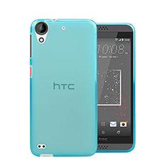 Custodia TPU Trasparente Ultra Sottile Morbida per HTC Desire 630 Blu