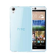 Custodia TPU Trasparente Ultra Sottile Morbida per HTC Desire 826 826T 826W Blu
