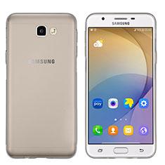 Custodia TPU Trasparente Ultra Sottile Morbida per Samsung Galaxy On5 (2016) G570 G570F Grigio