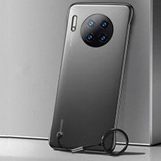 Custodia Ultra Slim Trasparente Rigida Cover Opaca per Huawei Mate 30 5G Nero