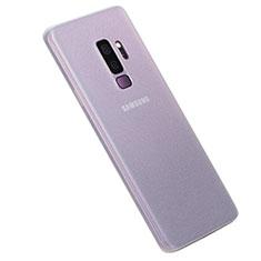 Custodia Ultra Slim Trasparente Rigida Cover Opaca per Samsung Galaxy S9 Plus Chiaro