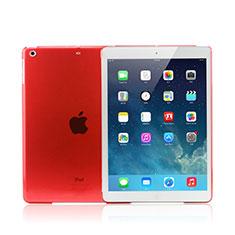 Custodia Ultra Slim Trasparente Rigida Opaca per Apple iPad Mini 3 Rosso