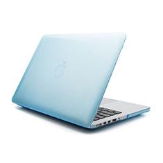 Custodia Ultra Slim Trasparente Rigida Opaca per Apple MacBook Pro 15 pollici Retina Blu