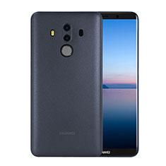 Custodia Ultra Slim Trasparente Rigida Opaca per Huawei Mate 10 Pro Blu