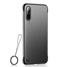 Custodia Ultra Sottile Trasparente Rigida Cover Opaca U01 per Xiaomi Mi A3 Nero