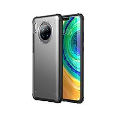 Custodia Ultra Sottile Trasparente Rigida Cover Opaca U02 per Huawei Mate 30 Nero