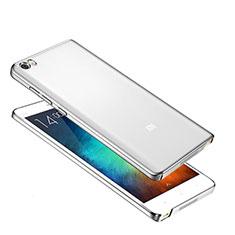 Custodia Ultra Sottile Trasparente Rigida Cover per Xiaomi Mi Note Argento