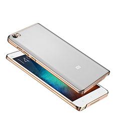 Custodia Ultra Sottile Trasparente Rigida Cover per Xiaomi Mi Note Oro
