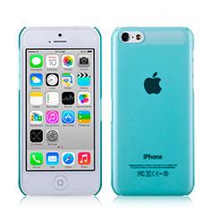 Custodia Ultra Sottile Trasparente Rigida Opaca per Apple iPhone 5C Cielo Blu