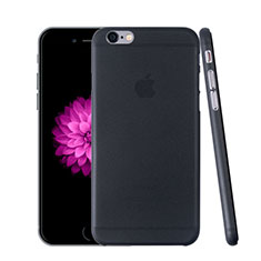 Custodia Ultra Sottile Trasparente Rigida Opaca per Apple iPhone 6 Grigio Scuro
