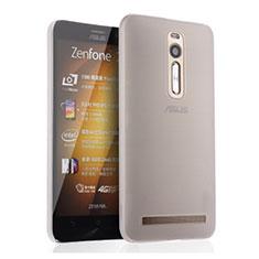 Custodia Ultra Sottile Trasparente Rigida Opaca per Asus Zenfone 2 ZE551ML ZE550ML Bianco