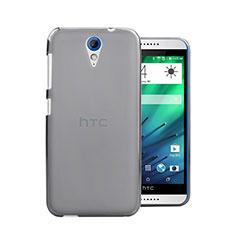 Custodia Ultra Sottile Trasparente Rigida Opaca per HTC Desire 620 Grigio
