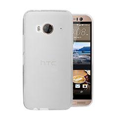 Custodia Ultra Sottile Trasparente Rigida Opaca per HTC One Me Bianco