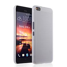 Custodia Ultra Sottile Trasparente Rigida Opaca per HTC One X9 Bianco