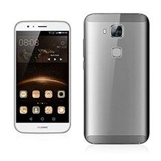 Custodia Ultra Sottile Trasparente Rigida Opaca per Huawei G7 Plus Grigio
