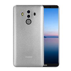 Custodia Ultra Sottile Trasparente Rigida Opaca per Huawei Mate 10 Pro Bianco