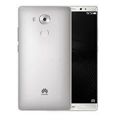 Custodia Ultra Sottile Trasparente Rigida Opaca per Huawei Mate 8 Grigio