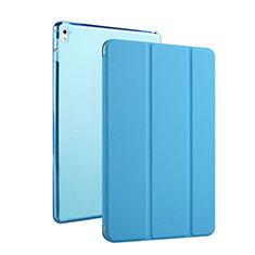 Flip Cover Portafoglio In Pelle con Supporto per Apple iPad Pro 9.7 Cielo Blu