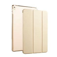 Flip Cover Portafoglio In Pelle con Supporto per Apple iPad Pro 9.7 Oro
