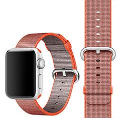 Milanese Cinturino Braccialetto Acciaio Band per Apple iWatch 4 40mm Arancione