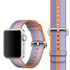 Milanese Cinturino Braccialetto Acciaio per Apple iWatch 5 40mm Arancione