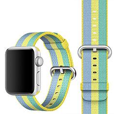 Milanese Cinturino Braccialetto Acciaio per Apple iWatch 5 40mm Giallo