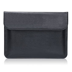 Morbido Pelle Custodia Marsupio Tasca L02 per Huawei Honor MagicBook 15 Nero