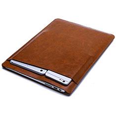 Morbido Pelle Custodia Marsupio Tasca L03 per Huawei Honor MagicBook Pro (2020) 16.1 Arancione