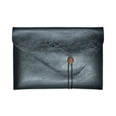 Morbido Pelle Custodia Marsupio Tasca L23 per Apple MacBook Pro 13 pollici (2020) Nero