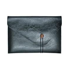 Morbido Pelle Custodia Marsupio Tasca L23 per Apple MacBook Pro 15 pollici Retina Nero
