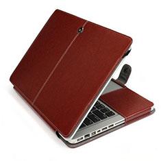 Morbido Pelle Custodia Marsupio Tasca L24 per Apple MacBook Air 13.3 pollici (2018) Marrone