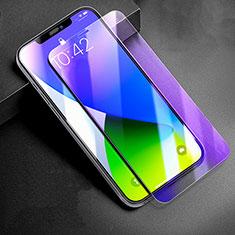 Pellicola in Vetro Temperato Protettiva Anti Blu-Ray Proteggi Schermo Film B01 per Apple iPhone 12 Chiaro