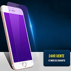 Pellicola in Vetro Temperato Protettiva Anti Blu-Ray Proteggi Schermo Film B01 per Apple iPhone 8 Blu