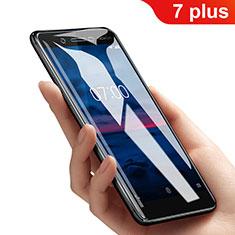 Pellicola in Vetro Temperato Protettiva Anti Blu-Ray Proteggi Schermo Film B01 per Nokia 7 Plus Chiaro