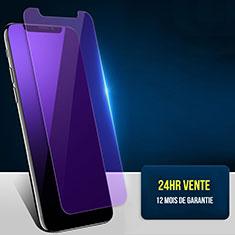 Pellicola in Vetro Temperato Protettiva Anti Blu-Ray Proteggi Schermo Film B02 per Apple iPhone Xs Max Blu