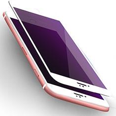 Pellicola in Vetro Temperato Protettiva Anti Blu-Ray Proteggi Schermo Film L02 per Apple iPhone 6S Bianco