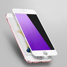 Pellicola in Vetro Temperato Protettiva Anti Blu-Ray Proteggi Schermo Film L03 per Apple iPhone 6S Bianco
