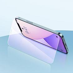 Pellicola in Vetro Temperato Protettiva Anti Blu-Ray Proteggi Schermo Film per Apple iPhone 12 Pro Max Chiaro