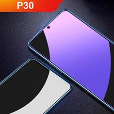 Pellicola in Vetro Temperato Protettiva Anti Blu-Ray Proteggi Schermo Film per Huawei P30 Chiaro
