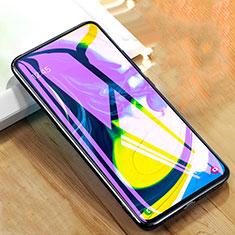 Pellicola in Vetro Temperato Protettiva Anti Blu-Ray Proteggi Schermo Film per Samsung Galaxy A80 Chiaro