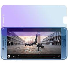 Pellicola in Vetro Temperato Protettiva Anti Blu-Ray Proteggi Schermo Film per Samsung Galaxy C7 Pro C7010 Blu